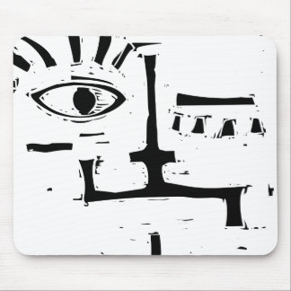 Square Head Mouse Pad