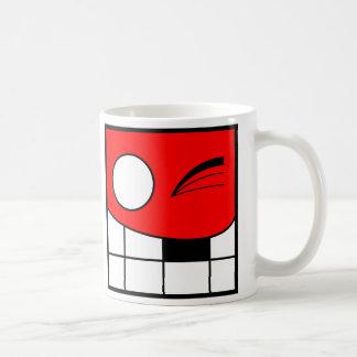 Square Head Coffee Mug