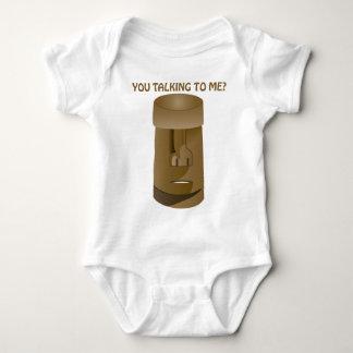 Square Head Tiki Baby Bodysuit