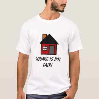 square house round house T-Shirt