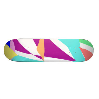 Square Ice Cube Old Air Caught Inside Fossils Custom Skateboard
