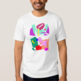 Square Ice Cube Old Air Caught Inside Fossils T Shirt