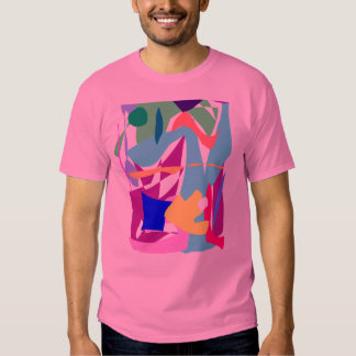 Square Ice Cube Old Air Caught Inside Fossils Tee Shirt
