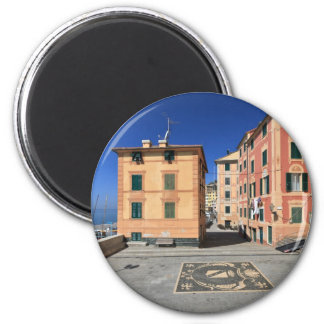 square in Sori, Italy Magnet