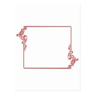 Square Jewel Frame Border : Add text, IMG Postcard