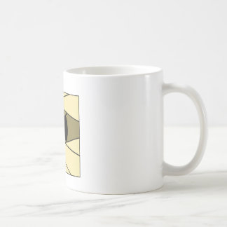 Square Kawaii Mummy Coffee Mug