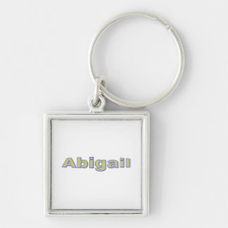 Square keychain for Abigail