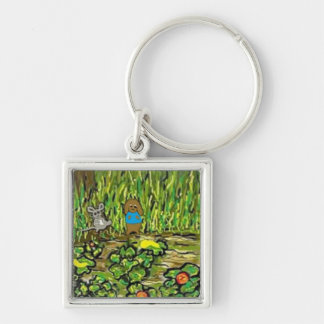 Square Keychain for kids
