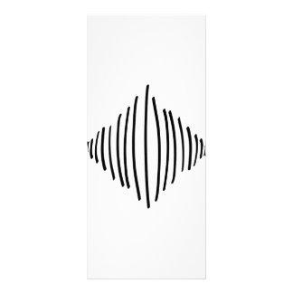 square line lines art rack card