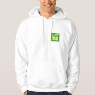 Square logo final large hoodie