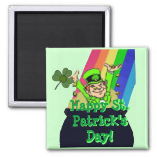 Square Magnet for St Patrick s Day