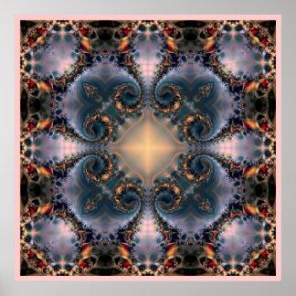 Square Mandala  210 Print
