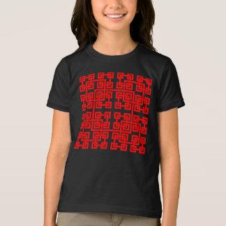 Square Mesh Girls T-Shirt
