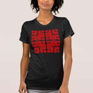 Square Mesh Womens T-Shirt