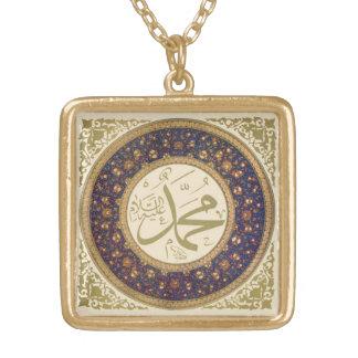 Square Muhammed pendant
