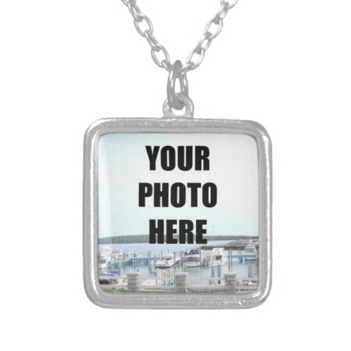 Square Necklace Photo Template