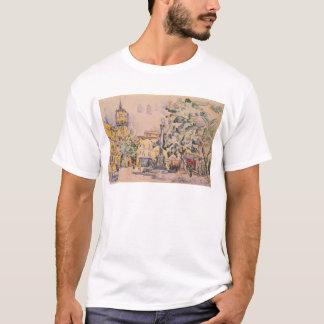 Square of the Hotel de Ville in Aix-en-Provence T-Shirt