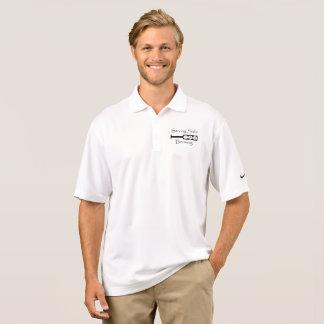 Square Paddle Logo - Nike Golf Polo