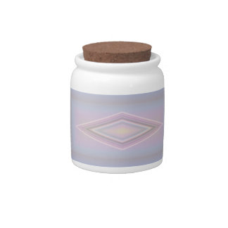 Square Pastels Candy Jars