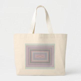 Square Pastels Large Tote Bag