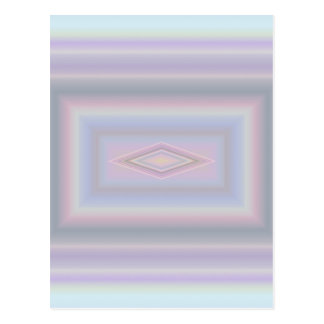 Square Pastels Postcard