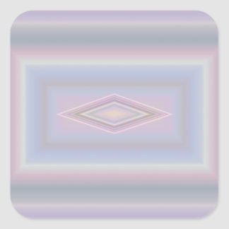 Square Pastels Square Sticker