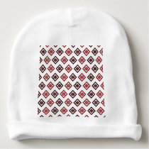 Square pattern baby beanie