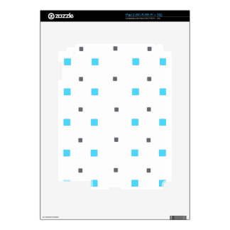 Square pattern decals for iPad 2