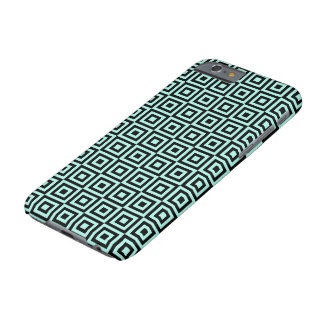 SQUARE PATTERN (GREEN) iPhone 6 Case