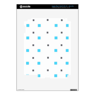 Square pattern iPad 3 decal