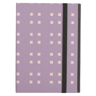 Square Pattern purple pink Case For iPad Air
