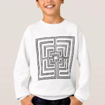Square Pattern Sweatshirt