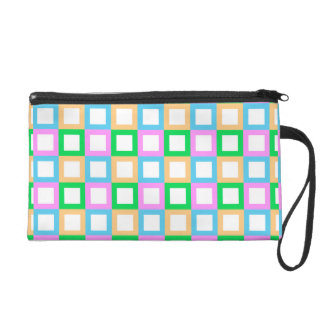 Square Pattern Wristlet for Her
