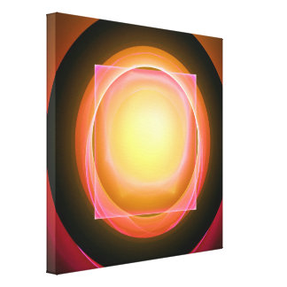 Square Peg in a Round Hole Canvas Print