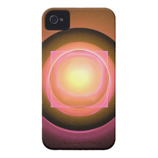 Square Peg in a Round Hole iPhone 4 Cases