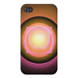 Square Peg in a Round Hole Cases For iPhone 4