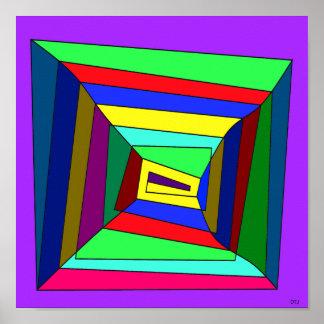 Square peg poster