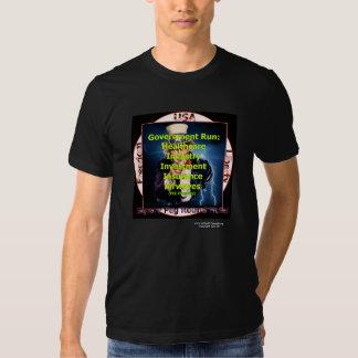 Square Peg Round Hole Black T-shirt