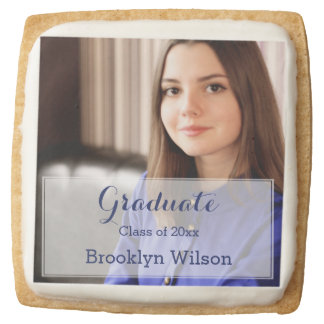 Square Personalized Graduation Cookies