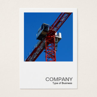Square Photo 0239 - Tower Crane Business Card