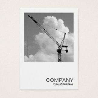 Square Photo 0244 - Tower Crane Business Card