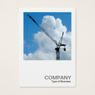Square Photo 0245 - Tower Crane Business Card