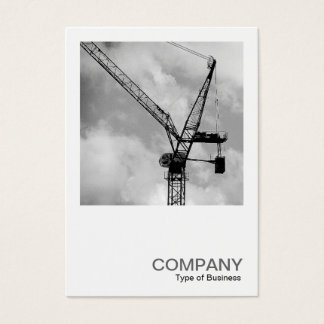 Square Photo 0247 - Tower Crane Business Card