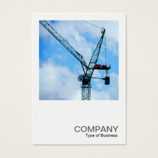 Square Photo 0248 - Tower Crane Business Card