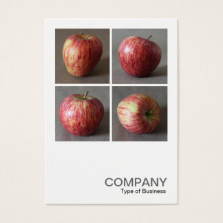 Square Photo 0491 - Four Apples Business Card