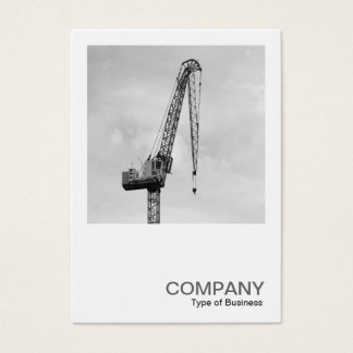 Square Photo 0583 - Tower Crane Business Card