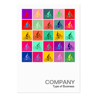 Square Photo 085 - Pedaling Pop Large Business Card