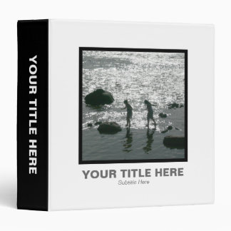 Square Photo (1.5in) - Stepping Stones 02 3 Ring Binder