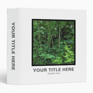 Square Photo (1.5in) - Trees and Shrubs 3 Ring Binder