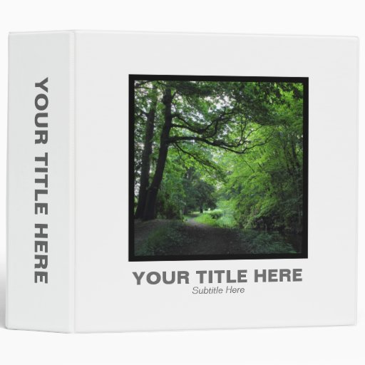 Square Photo (2in) - Canal 3 Ring Binder